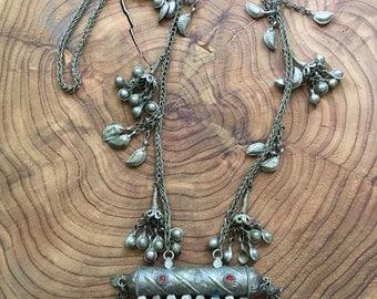 Vintage Kuchi Tribal Necklace