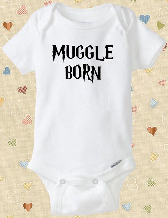 Muggle Born Onesie