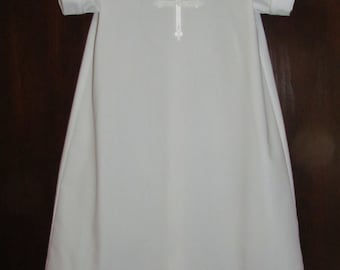 Baby Boy Gown Baptism Christening Baby Blessing Baby Dedication Gown Monogram