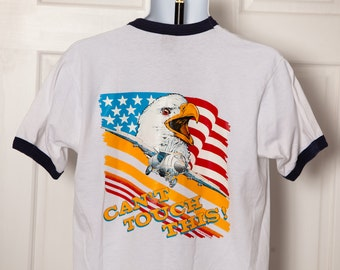 90s OPERATION DESERT STORM - United States Air Force Tshirt - L