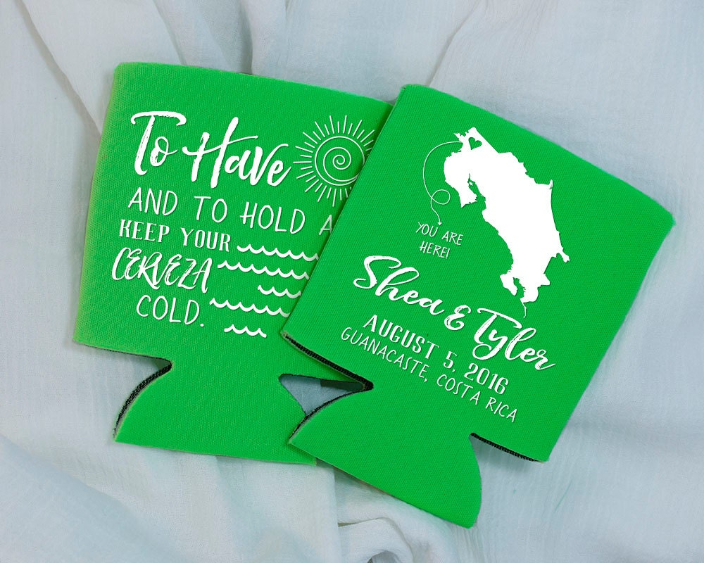To Have And To Hold Wedding Favors Beach Wedding