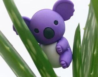 Purple Koala Novely Eraser