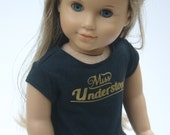 Miss understood tshirt handmade to fit your 18 inch play scale doll such as  American Girl®