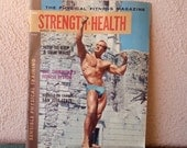 hubba hubba! Strength and Health men's fitness magazine March 1963