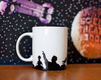 Mystery Science Theater 3000 Hand Painted Mug