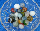20 Vintage Marbles, Mixed  Colors  --  VP48-333