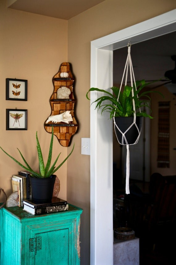 "Macrame Plant Hanger - 45"" Simple"