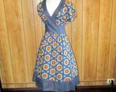 RETRO VINTAGE Circle Day Dress