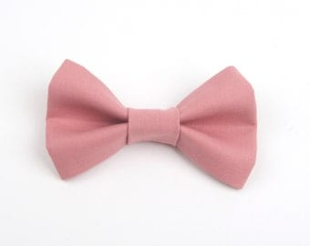 Rose bow tie, rose gold bow tie, ring bearer bow tie, boys rose bow tie, toddler bow tie, baby bow tie, men's bow tie, pink bow tie, bow tie