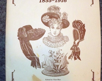 Hat Making For Dolls, 1855 - 1916, book, Patterns, illustratons, historical reference, Victorian, Edwardian, Millinery, hat, bonnet, 1800's