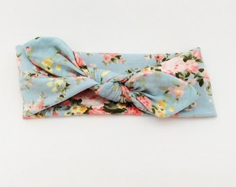 Top Knot baby girl headband newborn headband infant headbands baby headwrap headband turban headband big bow
