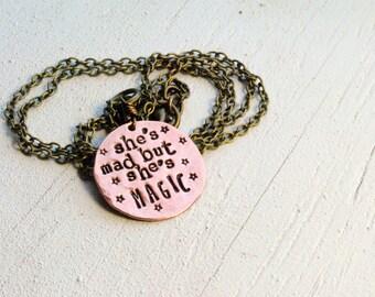 SALE Mad Magic Copper Coin Necklace