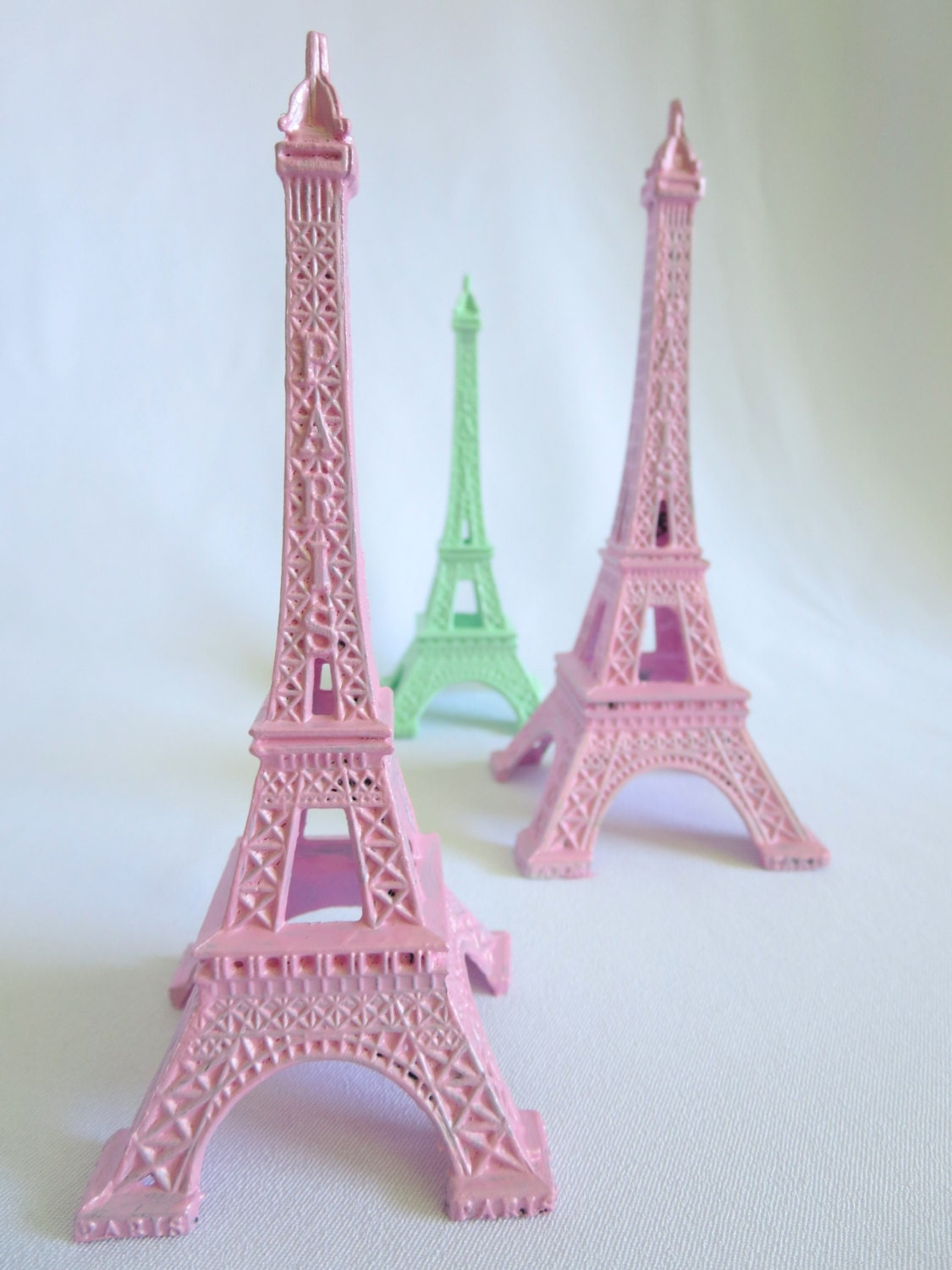 eiffel tower cake topper mint green home decor gift 40 beautiful pieces of mint green home decor