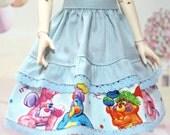 Fairy Kei Popples Skirt for IpleHouse KID / Dollmore Narsha or Similar Size Doll