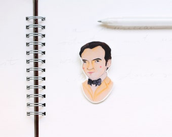 Federico Garcia Lorca brooch