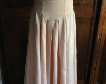 80s Does Victorian Skirt FREE US SHIP
