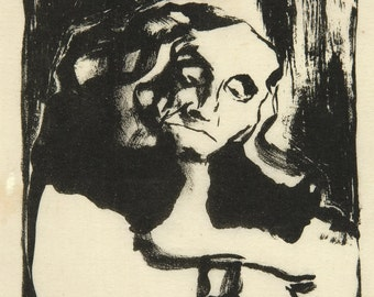 20th Century Expressionism: Faust, 1911 - Emil Nolde Print Reproduction. Fine Art Print.