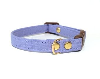 Lavender Dog Cat Collar