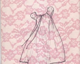 Vintage Vonna Nightgown Pattern Dolores of St Paul 6916 Size M