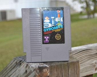 Vintage Nintedno Game Gyromite Robot Series Game (NES) 8 bit