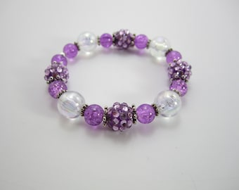Girls Purple Princess Bracelet Girls Bracelet Kids Bracelet, Girls Bracelet Jewelry Accessories Kids