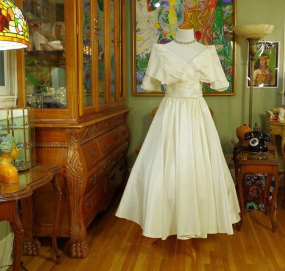 Party dress retro dior inspired new look vintage wedding bridal