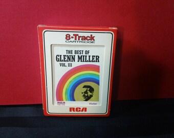 The Best of Glenn Miller Vol. III ~ P8S 1432 ~ 8-Track Tape Cartridge, compilation album (RCA Victor,1969) ~ Big Band Jazz