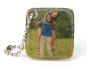 Personalized photo keychain, mom gift, wife gift, dad gift, girlfriend gift, personalized, custom photo keychain