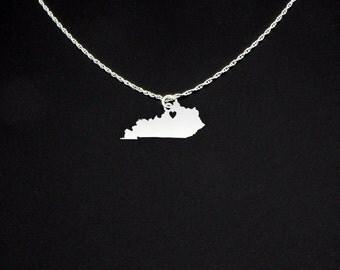 Kentucky Necklace - Kentucky Jewelry - Kentucky Gift