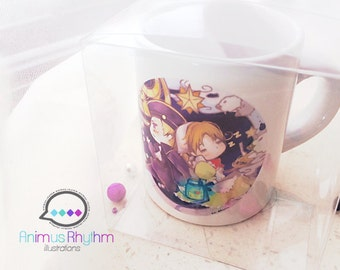Mini Ceramic Mug: Hetalia chibi Italy & Holy Rome APH anime cup