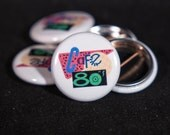 Cafe 80's | Back to the Future: Part 2 | 1-inch Button