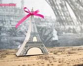Eiffel Tower Favor Box Printable - DIY - Paris Party - INSTANT DOWNLOAD pdf