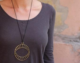 Brass Mind's Eye necklace