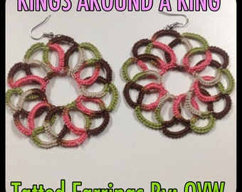 Rings Around A Ring (TATTED EARRINGS)