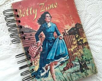 Mid Century Handcrafted Art Journal, Junk Journal, Smash Book, Scrap Journal, Gratitude Journal, Glue Book, Mixed Media