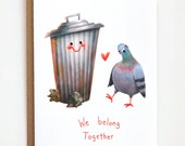 Funny Love Card, Anniversary Card, Valentines Day Card, Friendship Card