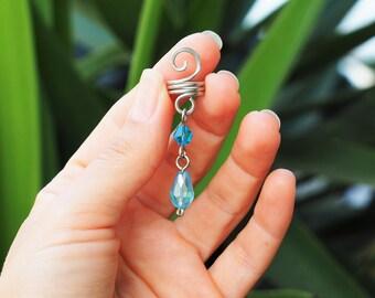 Wire Dread loc bead spiral hair cuff dread hair accessories Dreadlocks decoration viking hair rasta jewelry dreadlock cuffs