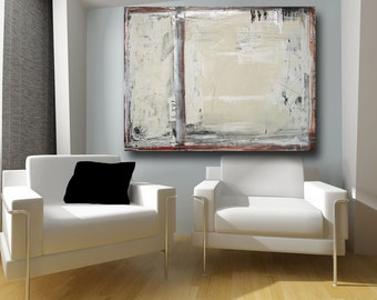 Abstract Painting Abstract Art Original Painting Large Acrylic Fine Art brown painting neutral painting 30 x 40 painting by Cheryl Wasilow
