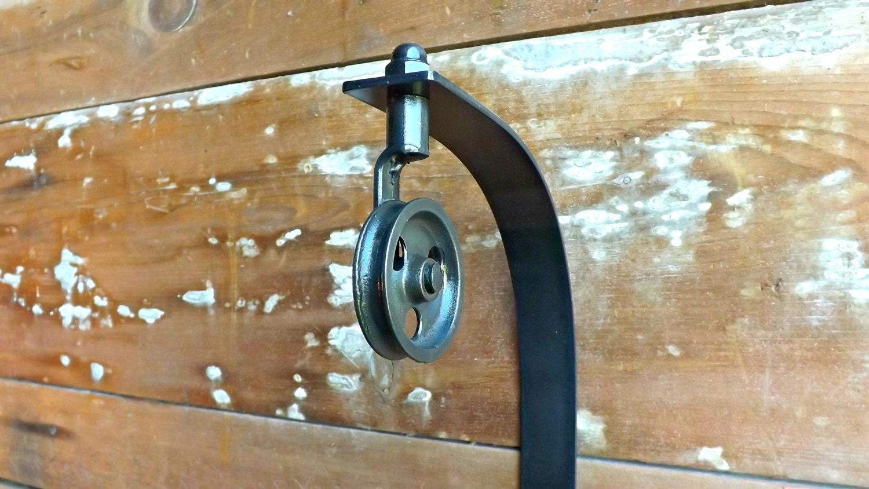 Pendant Lamp Pulley Bracket Industrial Sconce Light Hanger