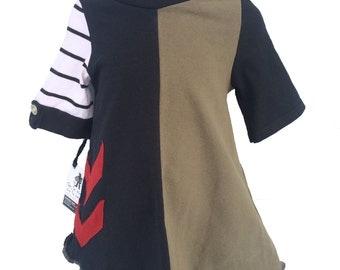 1 to 2 years  Upcycled dress upcycled children clothing eco-fashion