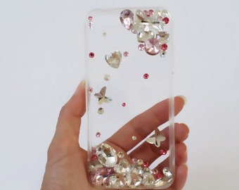 Crystals iphone 5 case, iphone 5s case, iphone 5, iphone 5s, iphone cover