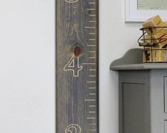 Children's Carved Wooden Growth Chart