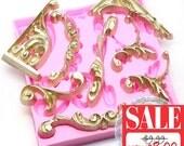 20% Off Set of 8 Decorative Scroll Mold 442L Silicone Mold Flexible Fondant Sugar Paste Cake Decorating Wedding Cake fimo BEST QUALITY