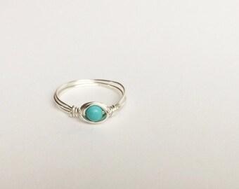 Mini Turquoise Ring