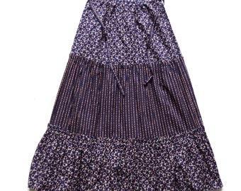 Vintage 70's Maxi Skirt UK 10