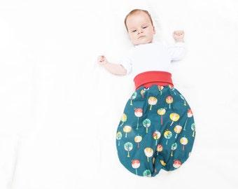 Baby sleep sack, organic baby sleeping bag, baby bedding, baby blanket, baby shower gift, newborn hipster gift