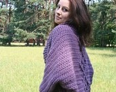 Skyler Chunky Oversized Cardigan  - crochet pattern - 5 adult sizes - pdf format / eBook