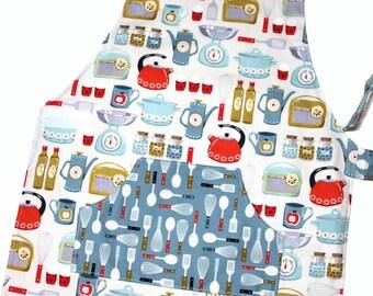 SIXTIES KITCHEN Montessori Toddler/Child Apron ready to ship