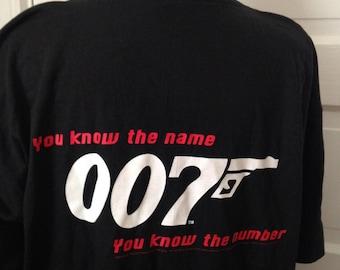 Vintage Goldeneye 007 James Bond 1995 T-shirt