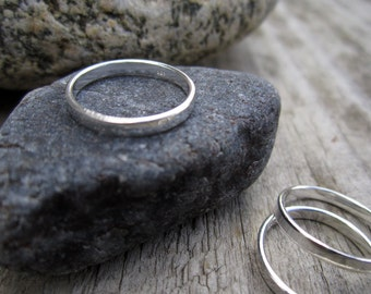 Sterling Midi Ring 3mm - Child's Ring in Solid Sterling Silver - Minimalist - Pinky Ring